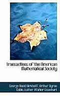 Transactions of the American Mathematical Society
