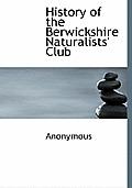 History of the Berwickshire Naturalists' Club