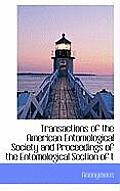 Transactions of the American Entomological Society and Proceedings of the Entomological Section of T