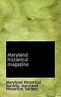 Maryland Historical Magazine