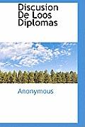 Discusion de Loos Diplomas