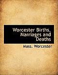 Worcester Births, Marriages and Deaths