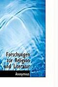 Forschungen Zur Religion Und Literatur