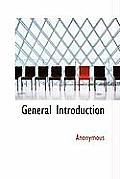 General Introduction