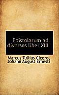 Epistolarum Ad Diversos Liber XIII