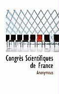 Congr?'s Scientifiques de France