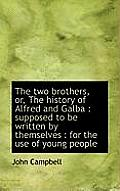 The Two Brothers, Or, the History of Alfred and Galba: Supposed to Be Written by Themselves: For T