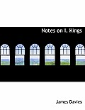 Notes on I. Kings