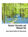 National Education and National Life