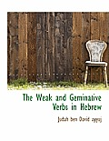 The Weak and Geminative Verbs in Hebrew