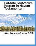 Caten Gr Corum Patrum in Novum Testamentum