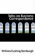 Talks on Business Correspondence