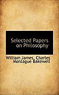Selected Papers on Philosophy