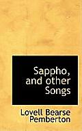 Sappho, and Other Songs