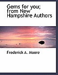 Gems for You; From New Hampshire Authors