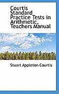 Courtis Standard Practice Tests in Arithmetic, Teachers Manual