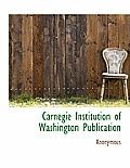 Carnegie Institution of Washington Publication
