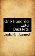 One Hundred Cold Desserts