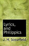 Lyrics, and Philippics