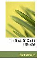 The Basis of Social Relations