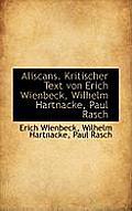 Aliscans. Kritischer Text Von Erich Wienbeck, Wilhelm Hartnacke, Paul Rasch