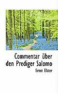 Commentar Ber Den Prediger Salomo