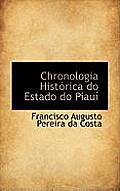 Chronologia Hist Rica Do Estado Do Piau