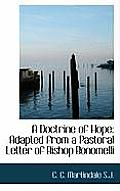 A Doctrine of Hope: Adapted from a Pastoral Letter of Bishop Bonomelli