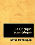 La Critique Scientifique