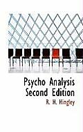 Psycho Analysis Second Edition