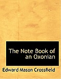 The Note Book of an Oxonian