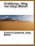 Grobianus. Hrsg. Von Aloys Bomer