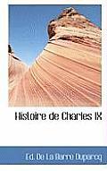 Histoire de Charles IX