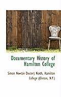 Documentary History of Hamilton College