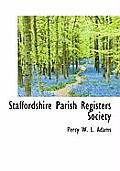 Staffordshire Parish Registers Society