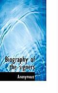 Biography of the Signers