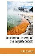 A Modern History of the English People