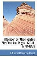 Memoir of the Hon'ble Sir Charles Paget, G.C.H., 1778-1839