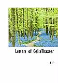 Letters of Celiathaxter