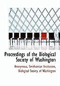 Proceedings of the Biological Society of Washington
