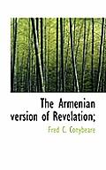 The Armenian Version of Revelation;