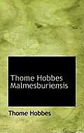 Thome Hobbes Malmesburiensis