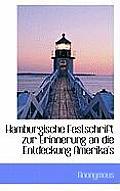 Hamburgische Festschrift Zur Erinnerung an Die Entdeckung Amerika's