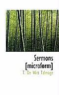 Sermons [Microform]
