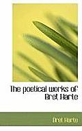 The Poetical Works of Bret Harte