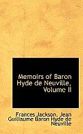 Memoirs of Baron Hyde de Neuville, Volume II