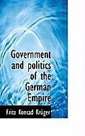 Government and Politics of the German Empire
