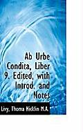 AB Urbe Condita, Liber 9. Edited, with Introd. and Notes