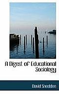 A Digest of Educational Sociology
