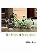 The Essays of Sainte-Beuve